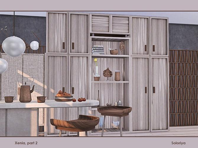 Sims 4 Xenia living room part 2 by soloriya at TSR