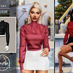 Yara Sims 4 Blouse