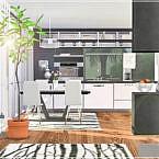 Yuriko Sims 4 Kitchen