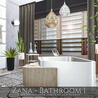 Zana Sims 4 Bathroom