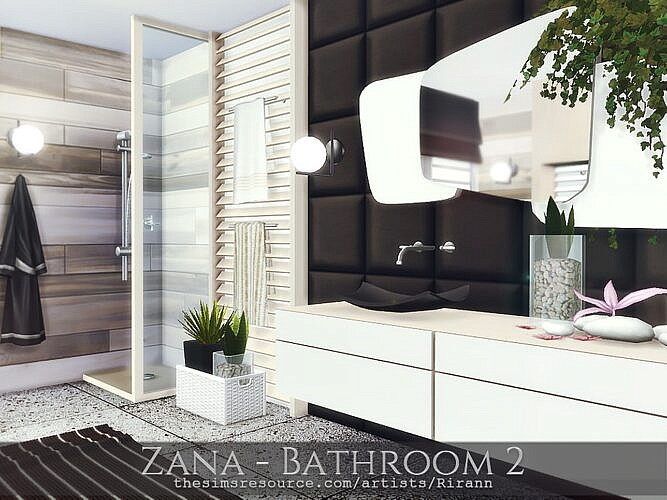 Zana Sims 4 Bathroom1