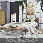 Zana Sims 4 Bedroom