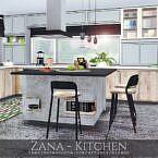Zana Sims 4 Kitchen