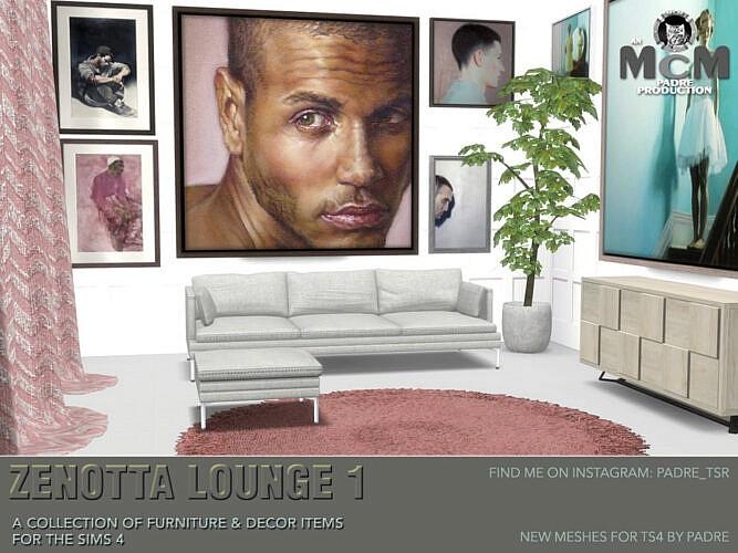Zenotta Sims 4 Lounge 1
