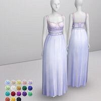 Evening Gown Sims 4 Formal Dress