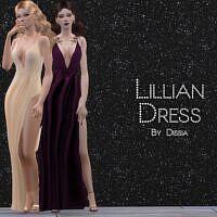 Lillian Sims 4 Formal Dress 1