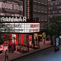 Vintage Movie Theater