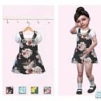 Little Rose Dress By Pinkfizzzzz