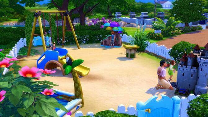 Sims 4 Magnolia Family Park at Caradriel