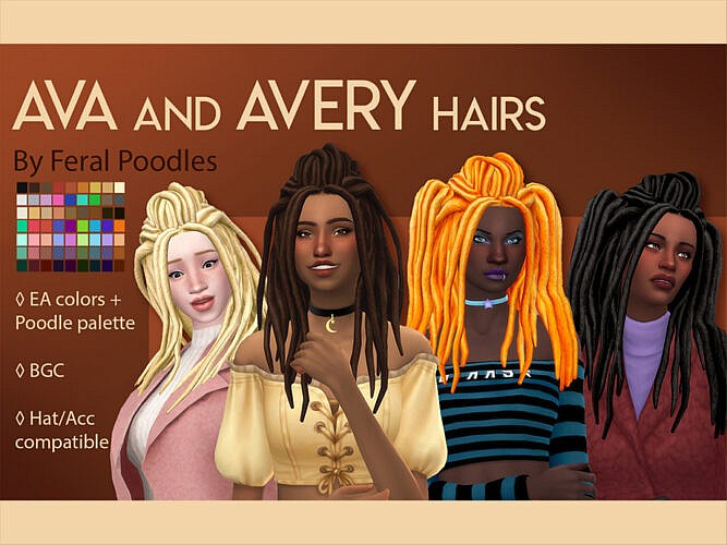 Ava Hair By Feralpoodles