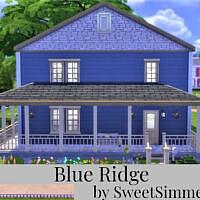 Blue Ridge Home By Sweetsimmerhomes