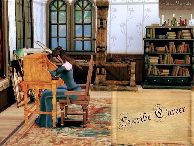 Sims 4 Scribe Career by MiraiMayonaka at Mod The Sims 4