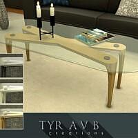 Metal Coffee Table By Tyravb