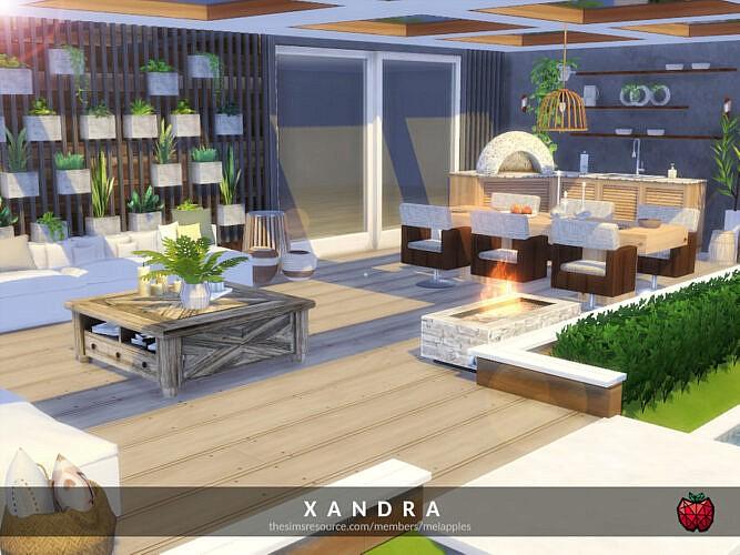 Xandra Patio By Melapples