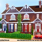 Semi Detached House By Sharon337