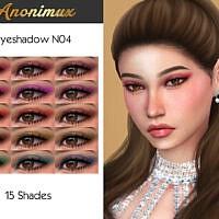 Eyeshadow N04 By Anonimux Simmer