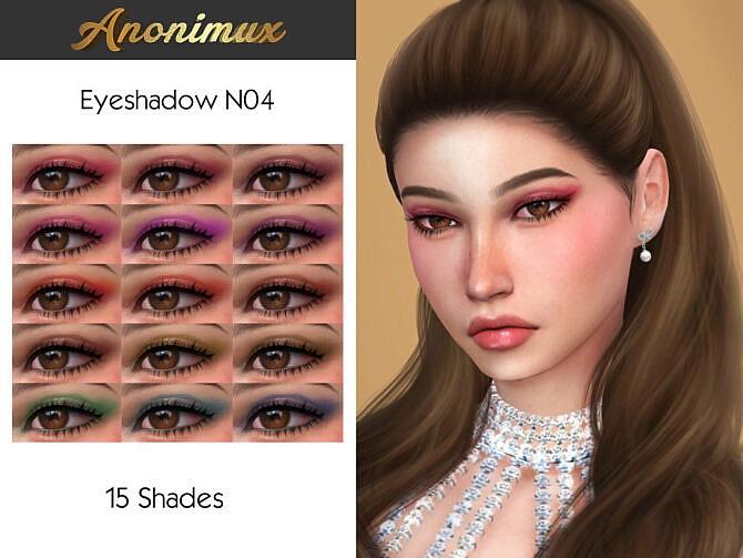 Sims 4 Eyeshadow N04 by Anonimux Simmer at TSR
