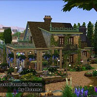 Last Farm In Town By Bozena
