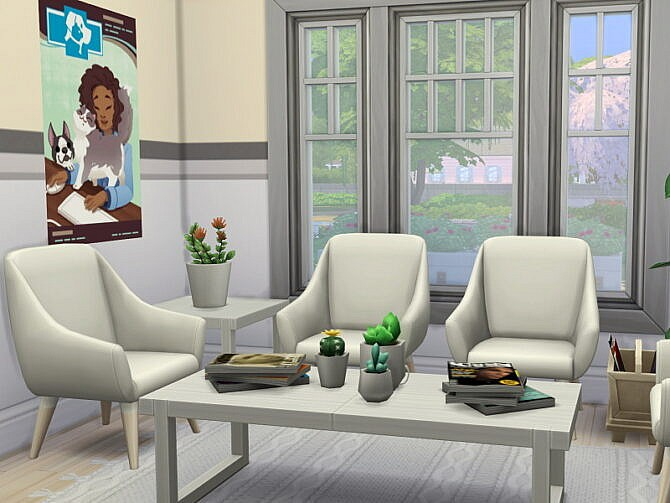 Sims 4 Willow Creek Vet Clinic by Flubs79 at TSR