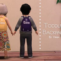 Backpack Toddler By Dissia