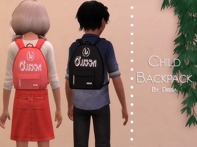 Backpack Child By Dissia