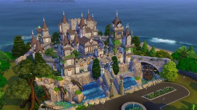 Full Medieval Style Castle By Bradybrad7
