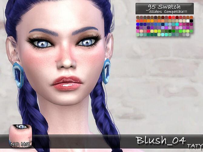Sims 4 Blush 04 by tatygagg at TSR