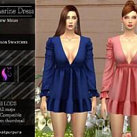 Aquamarine Dress By Katpurpura