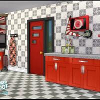 Retro R&r Kitchen Diner Set By Seimar8