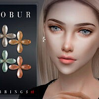 Earrings 41 By Bobur3