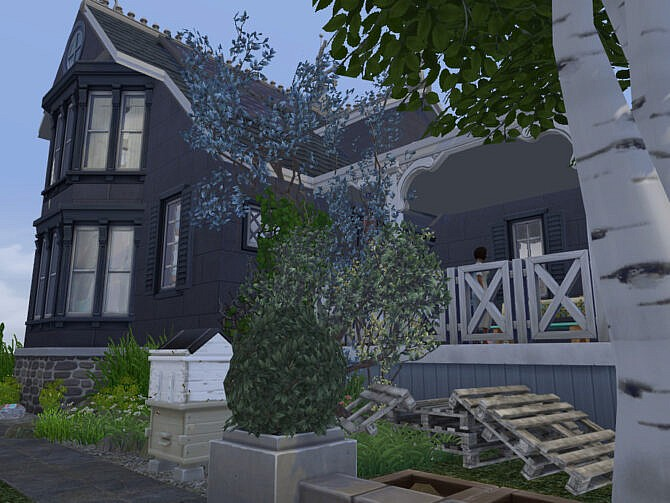 Sims 4 The Squealing Mermaid Boathouse by fredbrenny at TSR