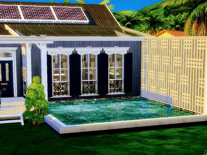 Sims 4 Tropics Bungalow by LJaneP6 at TSR