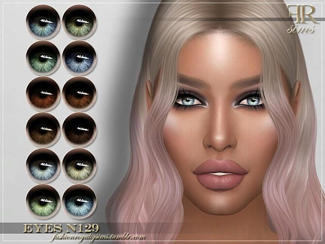 Sims 4 FRS Eyes N129 by FashionRoyaltySims at TSR