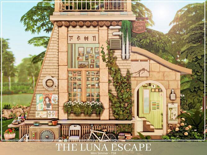 The Luna Escape Home By Mini Simmer