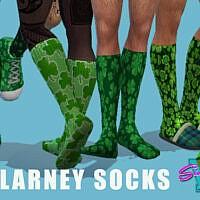 Blarney Socks By Simmiev
