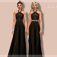 Embellished Dress Dr405 By Laupipi