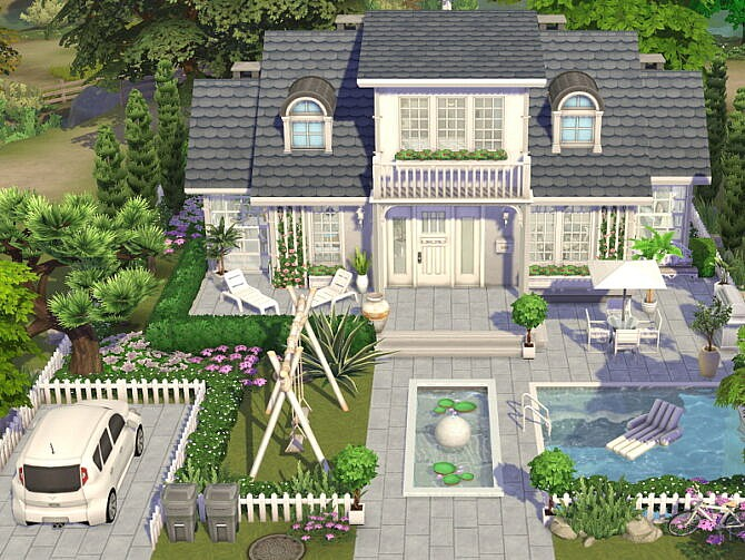 Sims 4 Summer Cottage by Flubs79 at TSR
