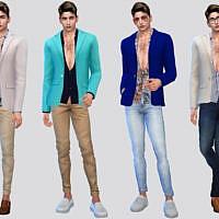 Calderone Suit Jacket By Mclaynesims