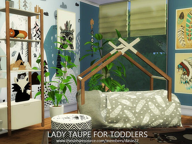 Lady Taupe For Toddlers By Dasie2