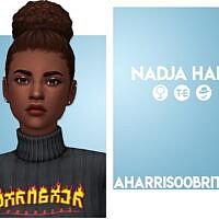 Nadja Simple Bun Hair