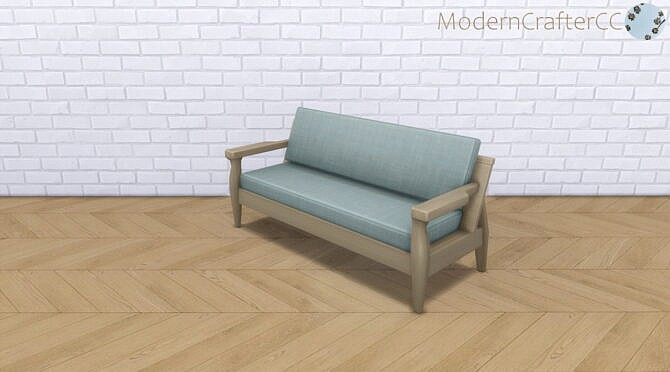 Sims 4 Snog The Loveseat Recolour at Modern Crafter CC