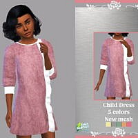 Retro Child Dress Elba By Lyllyan