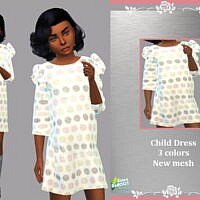 Retro Child Dress Mary By Lyllyan