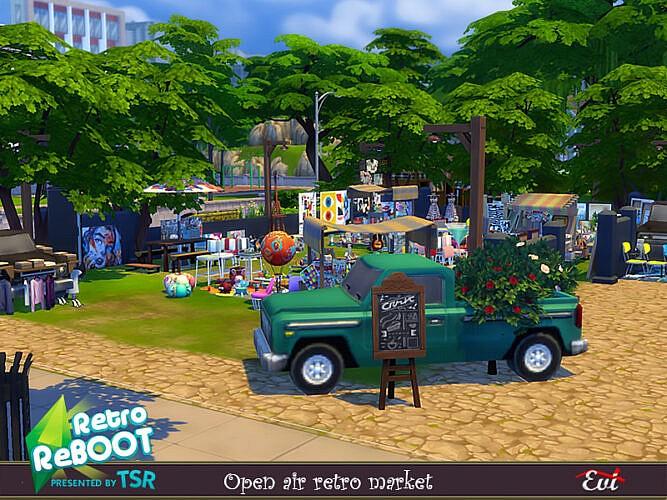 Retro Open Air Market By Evi
