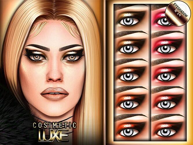 Luxe Eyeshadow N14 By Cosimetic