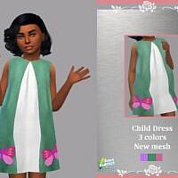 Retro Child Dress Sandra By Lyllyan