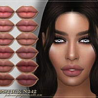 Frs Lipstick N242 By Fashionroyaltysims