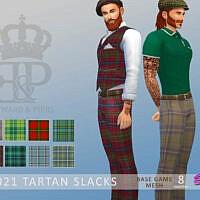 Edward & Piers Tartan Slacks By Simmiev