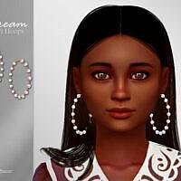 Dream Child Hoops Earrings By Suzue