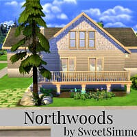 Northwoods House By Sweetsimmerhomes